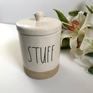 🆕Rae Dunn STUFF container